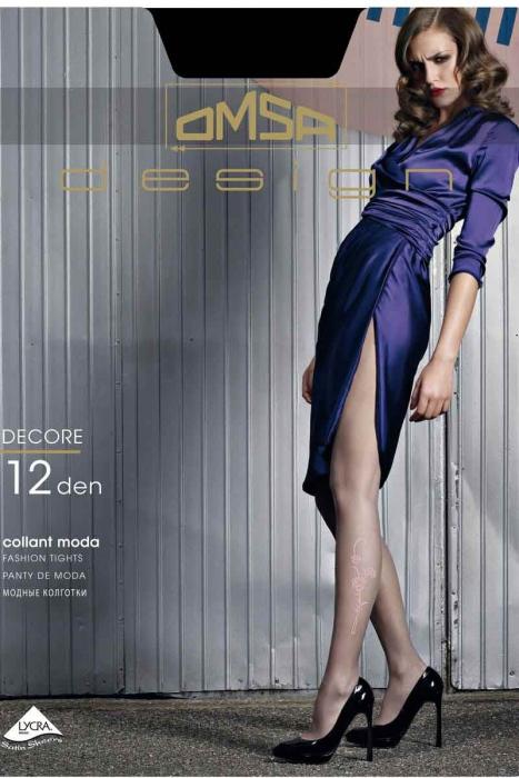 Moda Figural Collant 12 den Omsa 3310