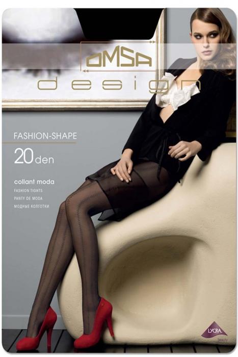 Moda Figural Collant 20 den Omsa 3336