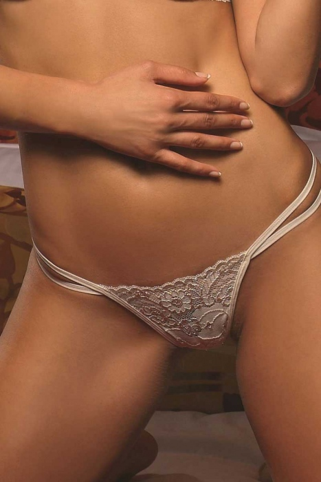 Lace Panties G-string in stile 737