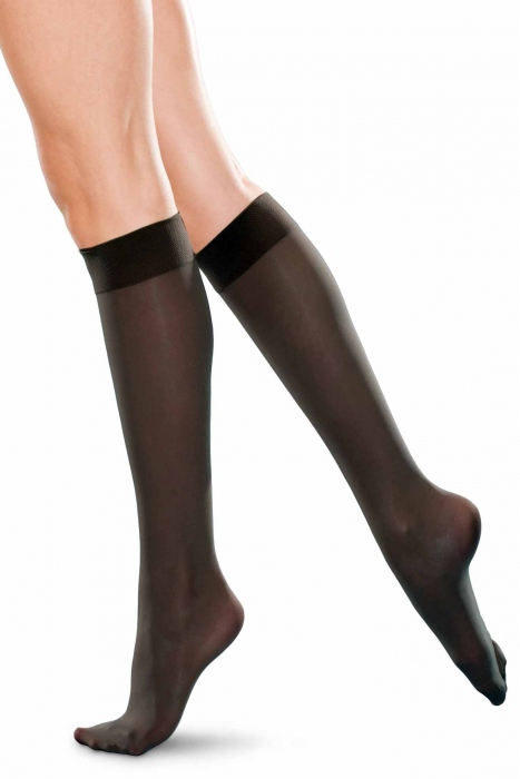 Calzini del ginocchio alto ladie classico 20 den