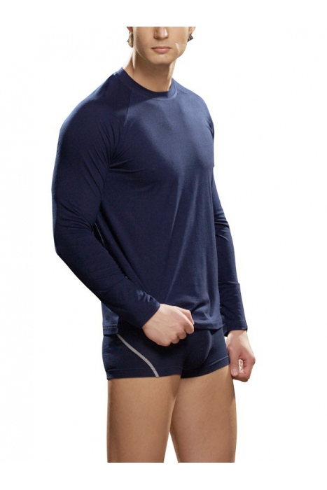 maniche lunghe T-shirt in cotone Lycra Signore 286