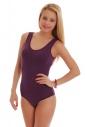 Stile cotone delle donne Body Vest Bikini 1365