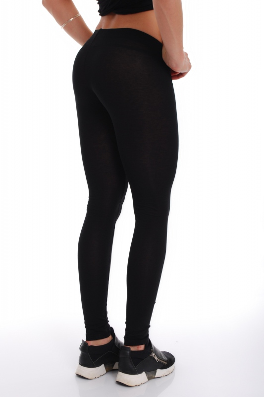 Leggings in cotone lycra donne 1501