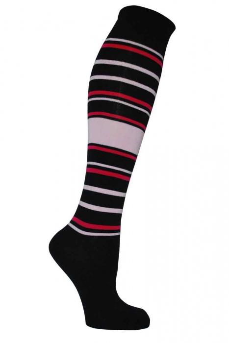 modellato ginocchio di bambù delle donne alti calzini