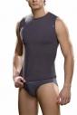 T-shirt senza maniche viscosa Signore 381