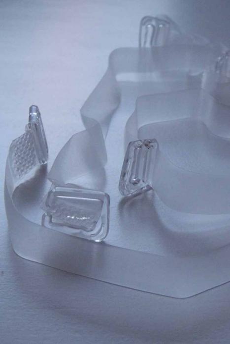 Spalline in silicone con la punta in plastica per Bras