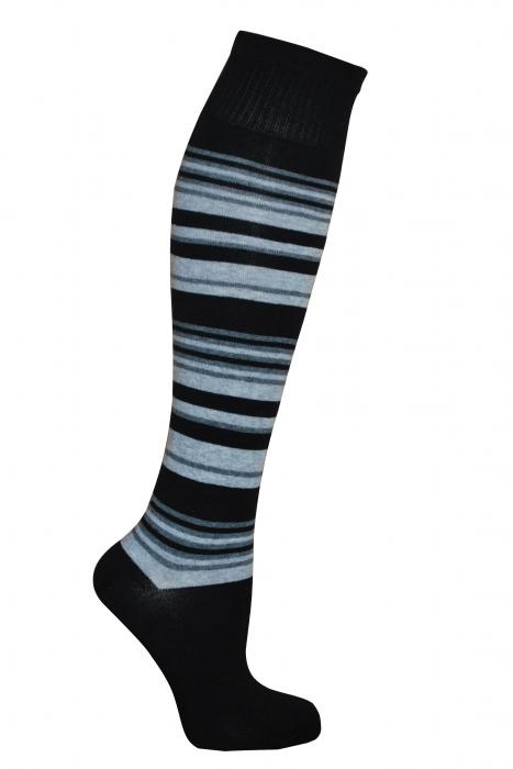 calze di cotone striscia 3/4 delle donne