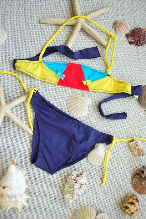 fondali Bando Bambini Bikini costume da bagno con i legami 1113