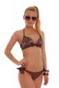 Bikini a triangolo e bikini brasiliano fondo 1771