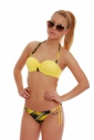 Bikini Push up inferiori a balconcino e bikini cravatta sottile 1725
