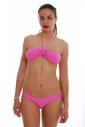 Bikini Bando con ammortizzazione e vita bassa 1181