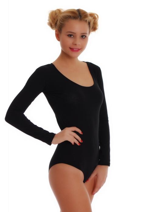 stile Body Bikini a manica lunga da donna in cotone 1380