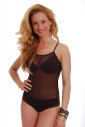 Sottile cinturino Body delle donne vede attraverso la maglia di stile del bikini 324