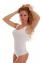 Cotton signore Body con ampio Style cinghie Thong 1355