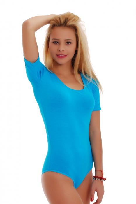 Cotone Body rotonda scollo manica corta Bikini 1445