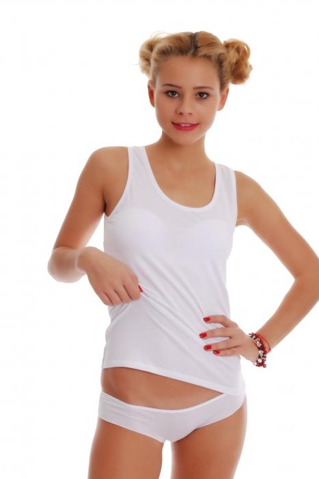 femminile Set Tank Top schiena scoperta e bikini Mutandine 1205-1225