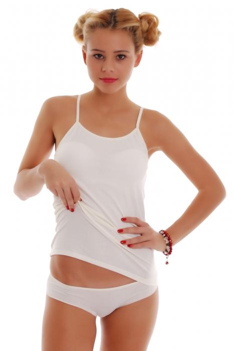Donne impostate Vest Thin Cinghie & Bikini Mutandine 1206-1225
