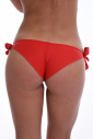 Brasiliano Slip bikini con nastri cravatta laterale 504
