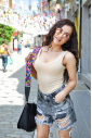 Stile Body Vest bikini delle donne del cotone 1365